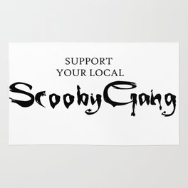 Support your local Scooby Gang Rug