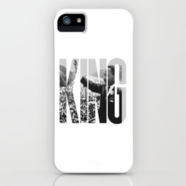 King - Martin Luther iPhone Case