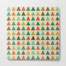 Lovely geometric Pattern VII Metal Print