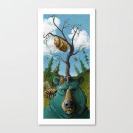 Disavowing Bear Canvas Print