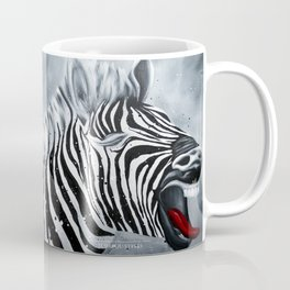 Cheeky Zebra Coffee Mug