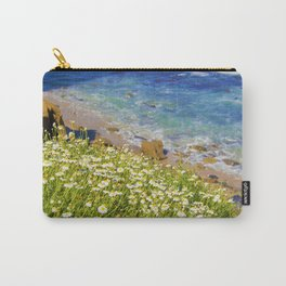 California Seaside in Bloom by Reay of Light Carry-All Pouch