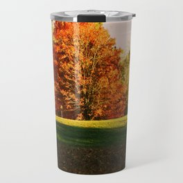 Colorful Autumn Trees Travel Mug