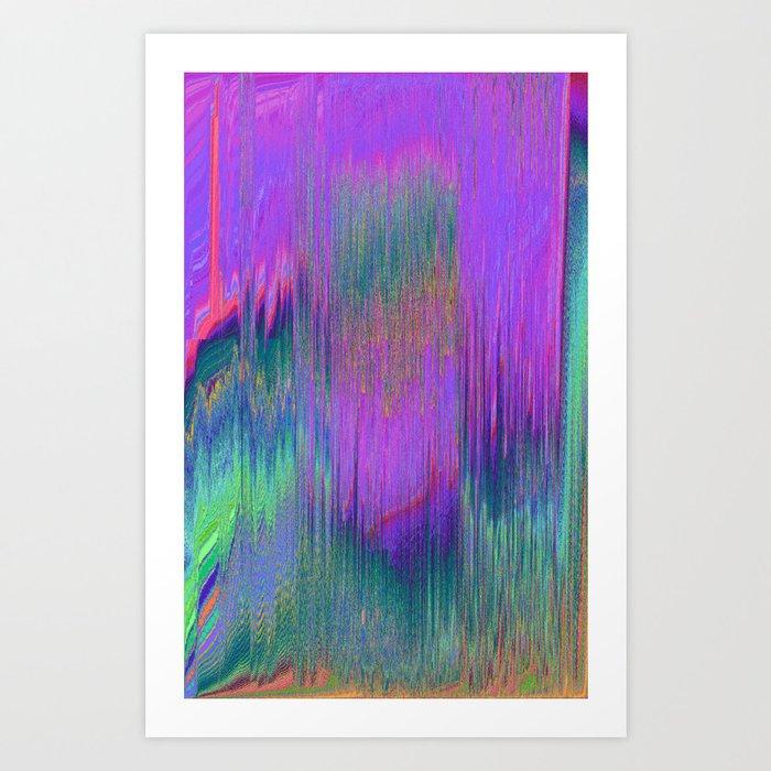hlgrphcmlt Art Print