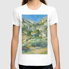 """Auguste Renoir """"Rocky Crags at L'Estaque"""" T-shirt"""