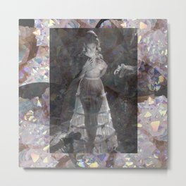 Gems and Gauze Metal Print