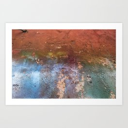 Distresssed Art Print