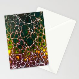 Fire Lacing Stationery Cards