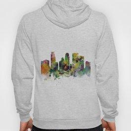 Minneapolis Minnesota Skyline Hoody