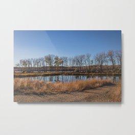 Downstream Campground, North Dakota 12 Metal Print