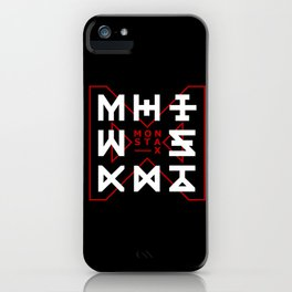 Monsta X -The Code iPhone Case