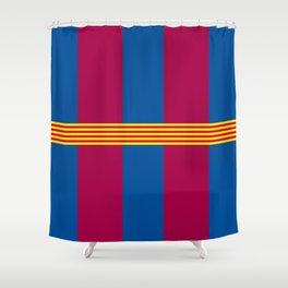FCB Catalunya Shower Curtain
