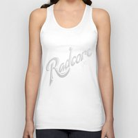 army Tank Tops featuring Radcore Army by Ocean Ave // Lettering and Design