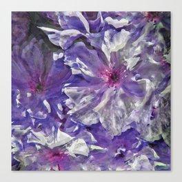 Purple Blossoms Canvas Print