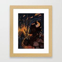 Fahrenheit 451 Framed Art Print