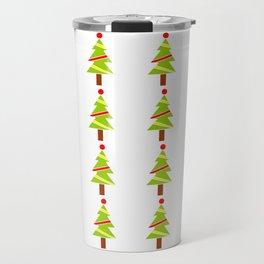 Christmas tree 3 Travel Mug