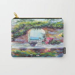 Cozy courtyard Carry-All Pouch