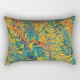 Leaves #4b Rectangular Pillow