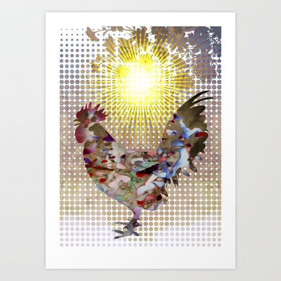 Rise and Shine! Art Print