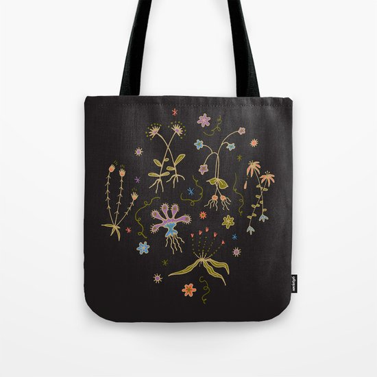 Flora of Planet Hinterland Tote Bag