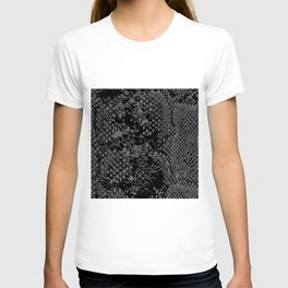 Snake Skin Pattern Reptile Leather Texture Gift T-shirt