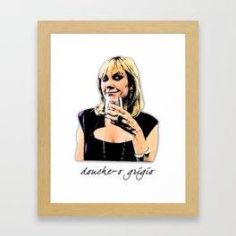Ramona Douche-o Grigio Framed Art Print