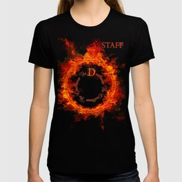 Devilhouse Staff Tee Shirt -- Be a part of the mysterious Devilhouse! T-shirt