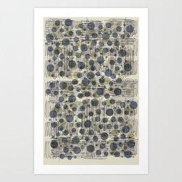 Soda Water Scribble Art Print