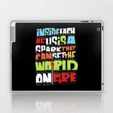a spark inside Laptop & iPad Skin
