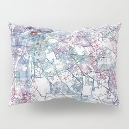 Louisville map (without name) Pillow Sham