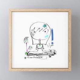 haritsadee 11 Framed Mini Art Print