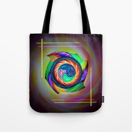 Abstract in perfection 121 Tote Bag