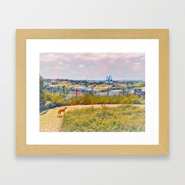 The World Would Be A Nicer Place If Everyone Had The Ability To Love As Unconditionally As A Dog Framed Art Print