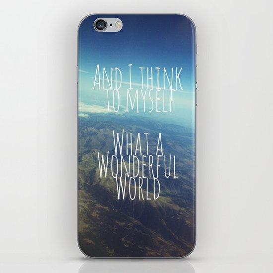 And I Think To Myself... iPhone & iPod Skin
