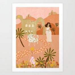 Safari Home Art Print