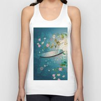 surfing Tank Tops featuring Surfing by nicky2342