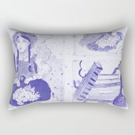 Anne of Green Gables Purple Rectangular Pillow