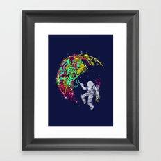 ART'stronaut Framed Art Print