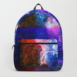 NEBULA COSMIC HORIZON OCEAN BLUE Backpack