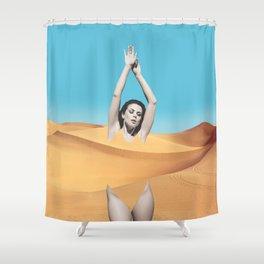 Desert Babe Shower Curtain