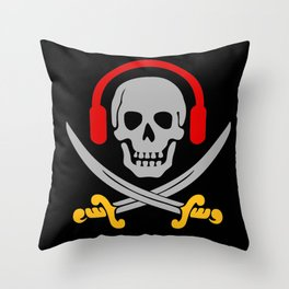 Pirates Sound Throw Pillow