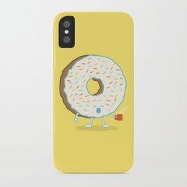 The Sleepy Donut iPhone Case