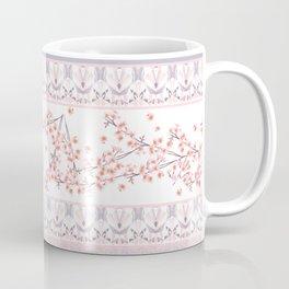 Happiness and Sakura Coffee Mug
