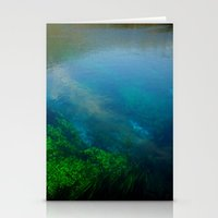 underwater Stationery Cards featuring underwater by habish