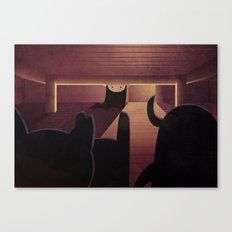 What's Under My Bed? Canvas Print