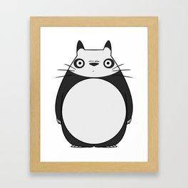 Panda Neighbor Framed Art Print