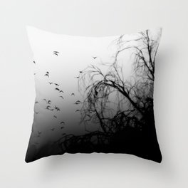 Into The Darkness 3 Throw Pillow