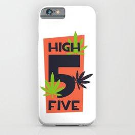 High Five iPhone Case