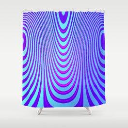 Blurple Shower Curtain