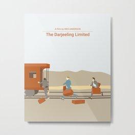 the darjeeling limited Metal Print
